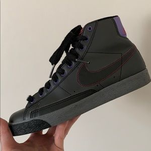 Nike Women's Blazer High Top Black/Grey size 7.5